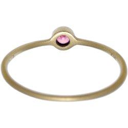 画像3: ピンクダイヤのゴールドリング